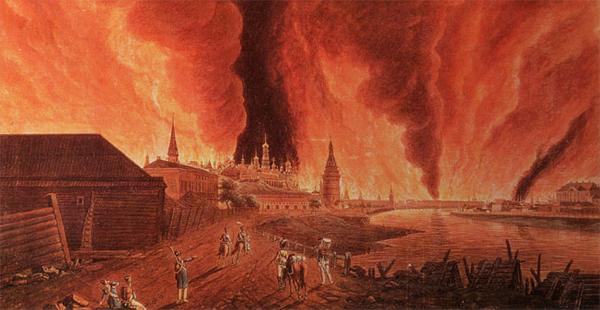 7 самых крупных пожаров в Москве