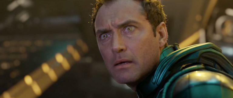 Теперь мы знаем, кого Джуд Лоу сыграл в «Капитане Марвел»